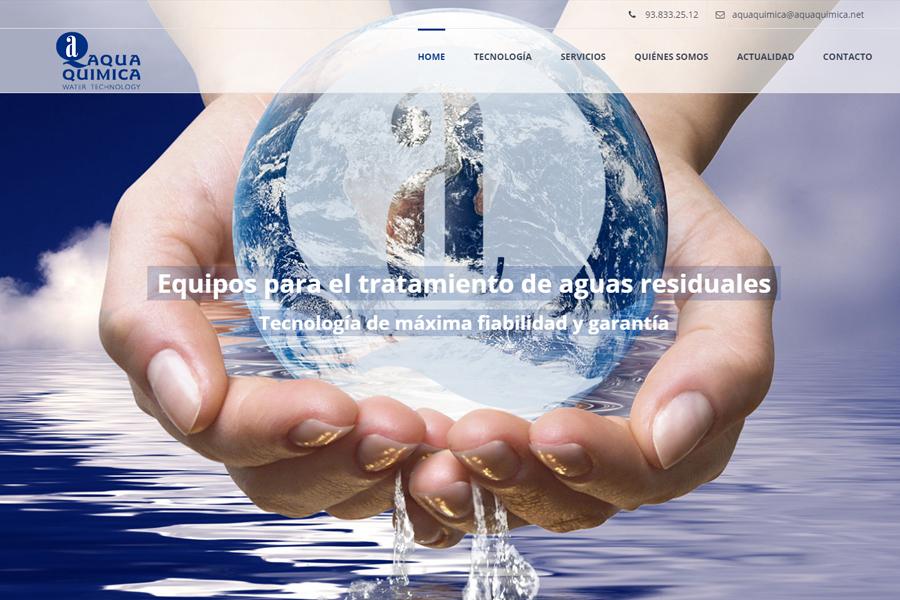 nueva web aqua quimica